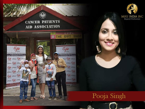 Help Children With Cancer And Their Families With Pooja