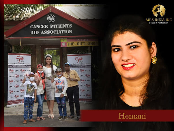 Help Children With Cancer And Their Families With Himani