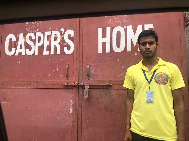 Vivek-Our resident cook/caretaker at Casper's Home