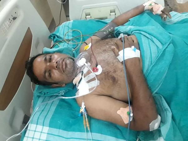 Ebenazer Thanganadar Needs Your Urgent Support In Fighting Road Traffic Accident With Leg Injury