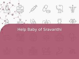 Help Baby of Sravanthi
