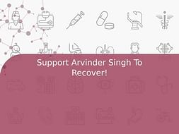 Support Arvinder Singh To Recover!