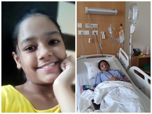 This 12 years old needs your urgent support in fighting Blood Cancer