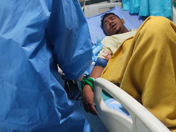 Support C Sunnyraj , Recover From Accident Face Injury