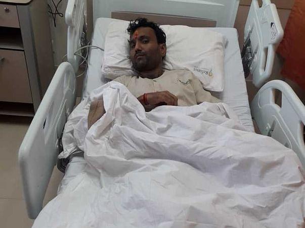 Support Surendra Radhesham Sharma Recover From Liver Failure