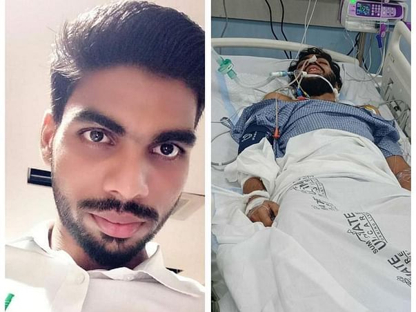 Support Alekh Niranjan Ojha Recover From Accident Head Injury