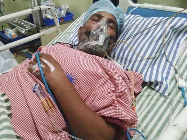 Support Laxmi Prasad Dehariya  fight/recover from Right hemiplegia