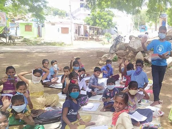Support Shankar to help hundred poor children and women during time