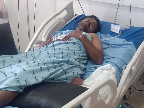 Support Prashanth Recover from Spinal cord Injury