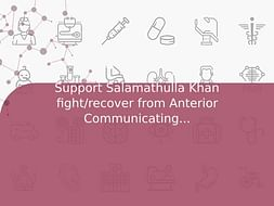 Support Salamathulla Khan fight/recover from Anterior Communicating Artery Aneurysm Rupture Sah And Hydrocephalus