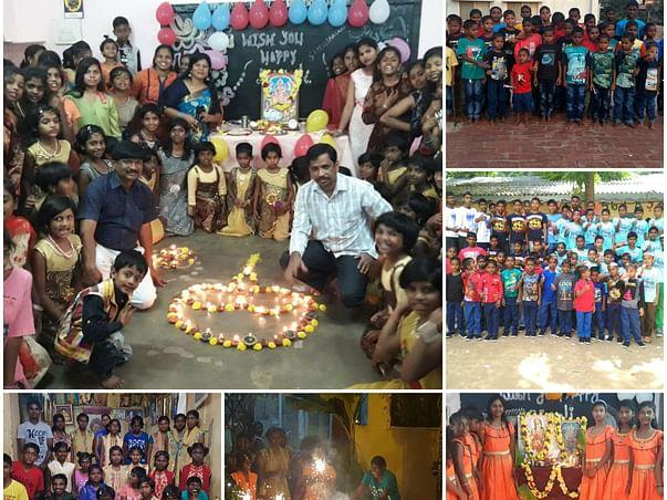 Diwali Celebration with Underprivileged Children - 2020
