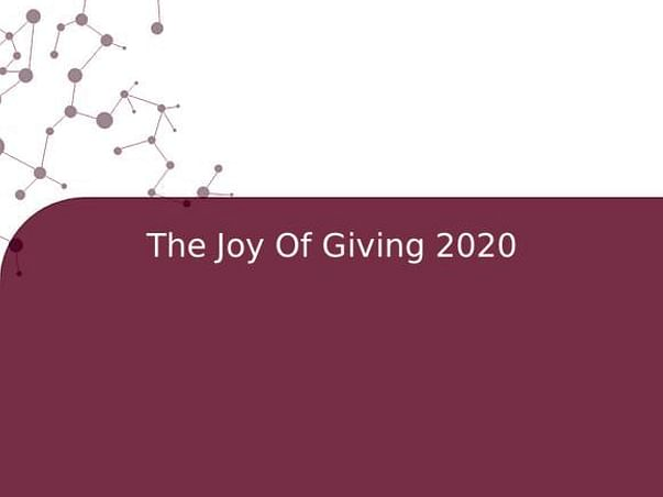The Joy of Giving 2020