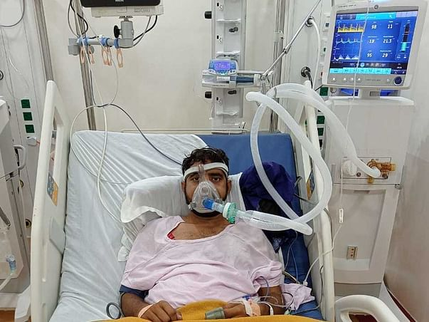 Support Khilesh to save him from Severe Pneumonia due to Covid-19