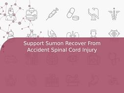 Support Sumon Recover From Accident Spinal Cord Injury