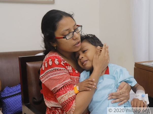 3 years old Divyansh needs your help fight Acute lymphoblastic leukemia (all)
