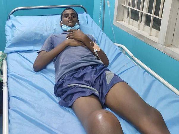 19 years old RAMU K Y needs your help fight Osteosarcoma