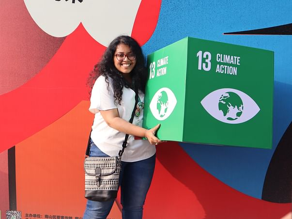 Send Ishani to Antarctica | Support Climate Action