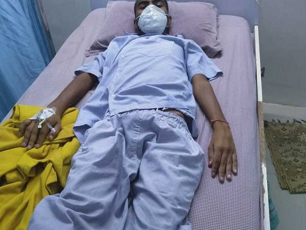 Help kailas to fight from TB and tumor & lumps in stomach