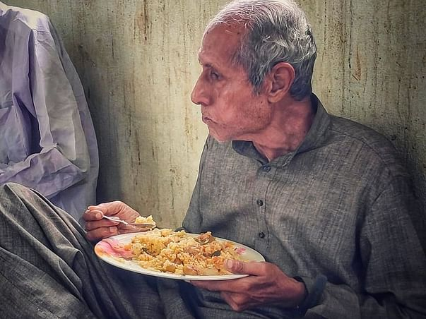 Donate One Meal for 10/- Rs. Only