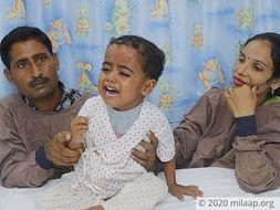 3 years old Viraj needs your help fight Intestinal ischemia