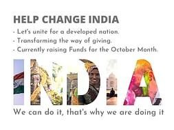 HELP CHANGE INDIA - Let's unite for a developed Nation