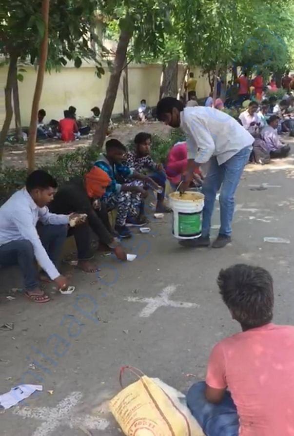 FEEDING THE NEEDY PEOPLES