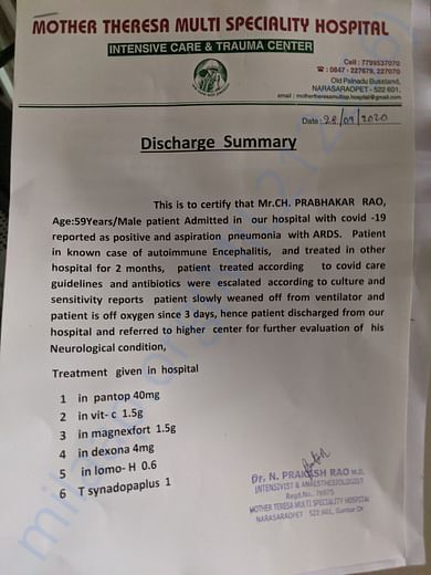 Discharge Summary_Covid_1 (2nd to 26th Sep)