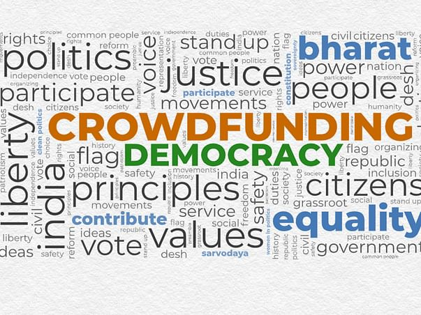 Indian School of Democracy|Crowdfunding Democracy