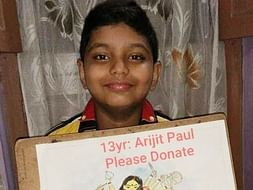 13 years old boy needs your urgent support to fight against Leukemia