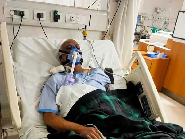 My Husband Struggling In Covid ICU Due To Lungs Failure