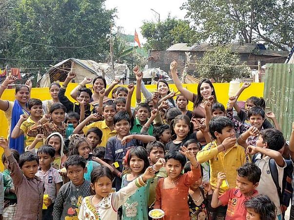 Support Slum Kids to Shine bright