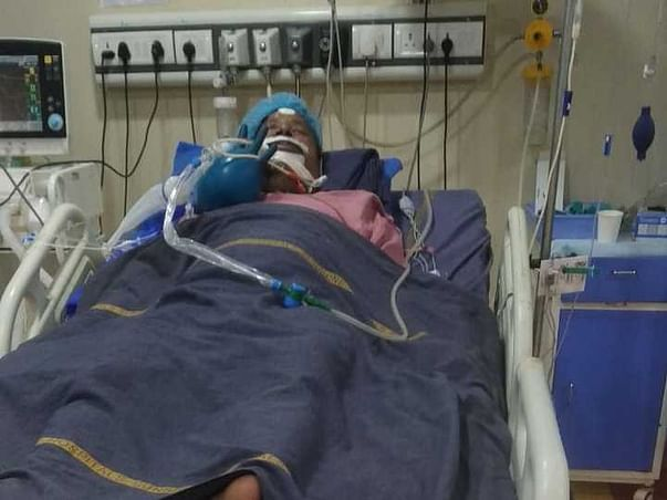 Please Support My Father Recover From Lung Problem