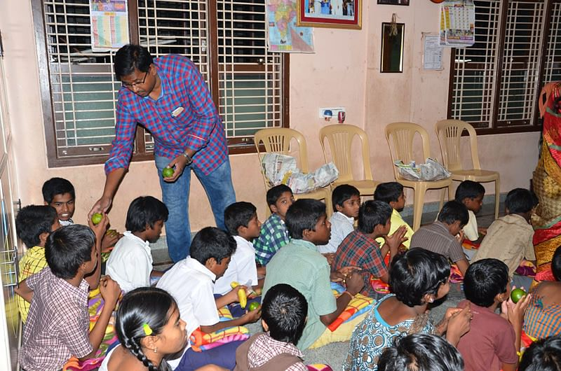 Orphans getting Education Shelter from seruds Orphanage