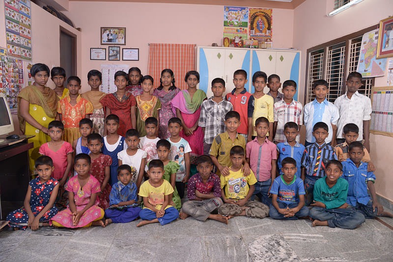 Orphan Street Children in need at seruds Orphanage in andhra pradesh