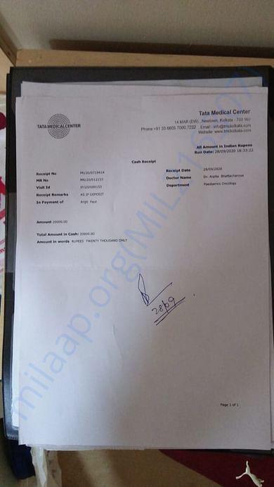 Tata medical bill