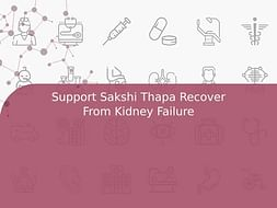 Support Sakshi Thapa Recover From Kidney Failure