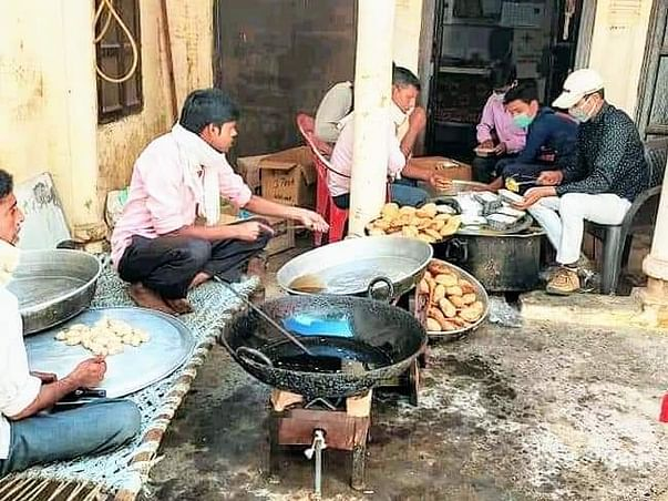 Food Relief to Daily Wage & Migrant Laborers