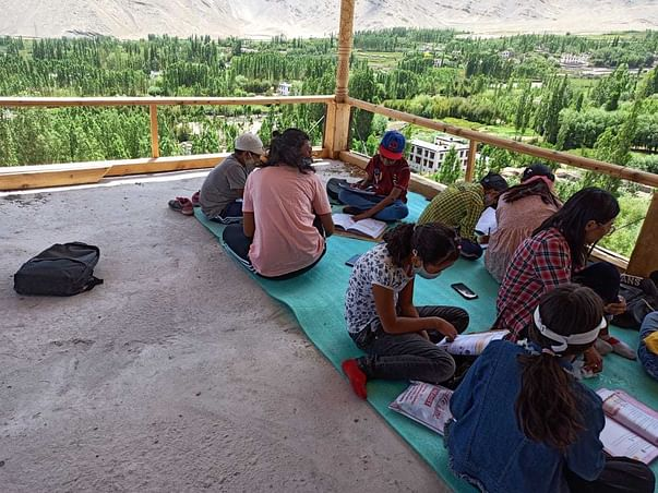 Khangrtsa Yontan- learning at doorsteps in Kargil (Ladakh)