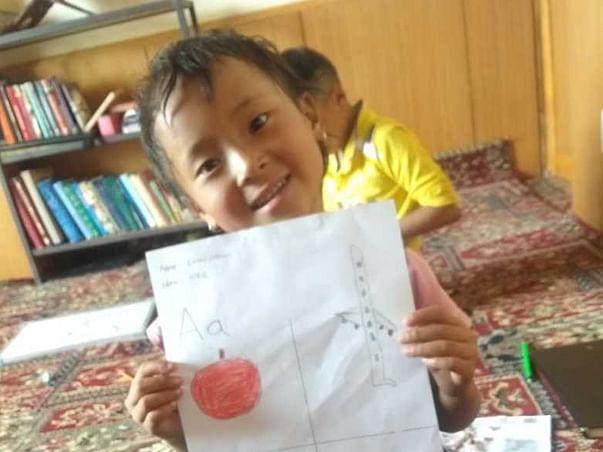 Khangrtsa Yontan- learning at doorsteps in Kargil (Ladakh)