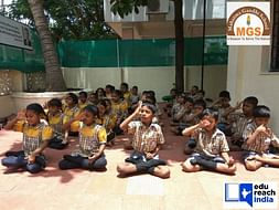 Donation drive for underprivileged kids of Mahatma Gandhi School, Pune