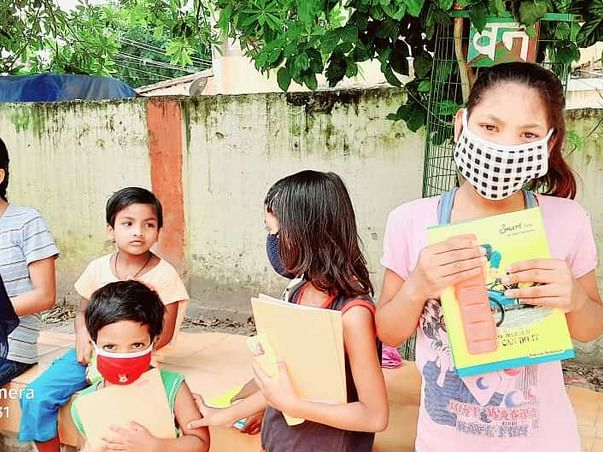 Poor Children's Need stationary and books help them