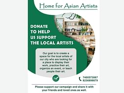 Please donate to help the local artists rebuild their livelihood