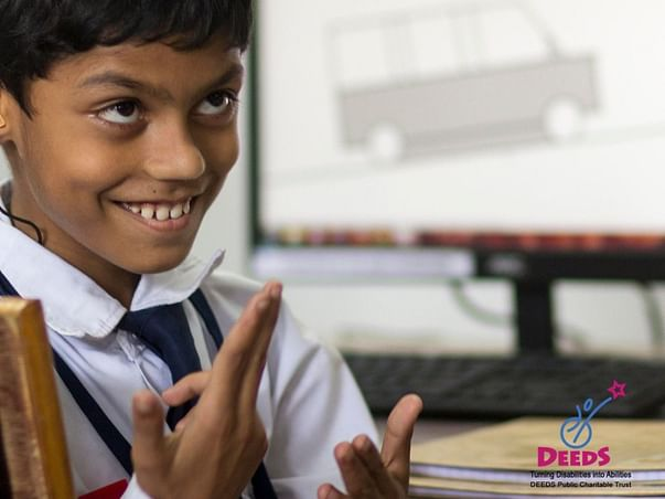 Join me in helping deaf and mute children continue their learning