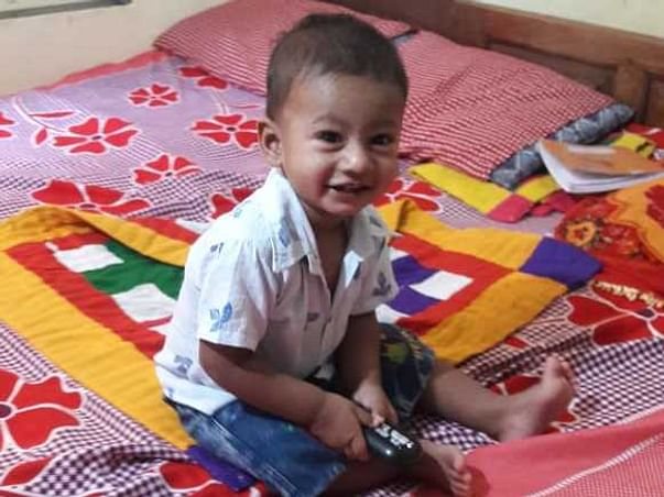 1 Year Old Ahmad Pansare Needs A Bone Marrow Transplant