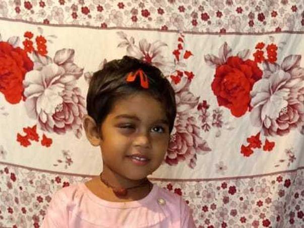 3 years old Vaishnavi Dahiya needs your help fight Retinoblastoma