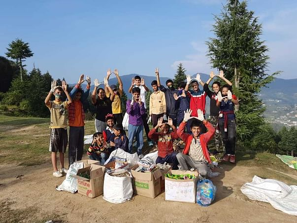 Himalayan youth take stand against plastic