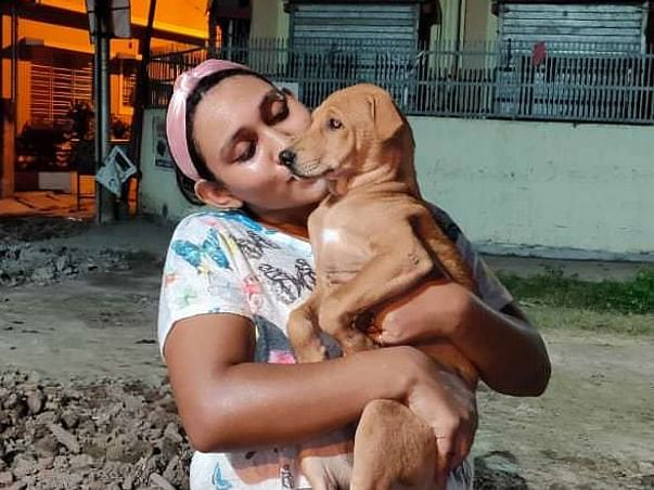 Sayani pal for 4 legged kids