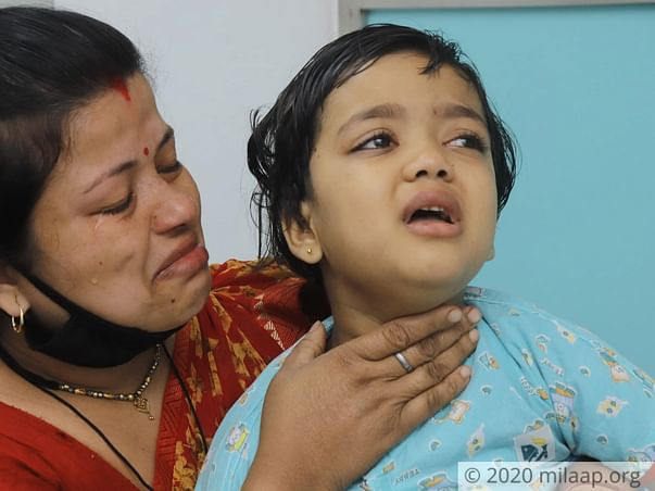 6 years old Shrishti needs your help fight Severe Aplastic Anaemia