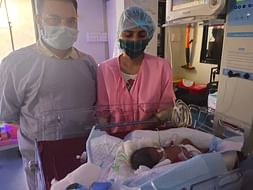 Save The Premature baby girl of Kirti