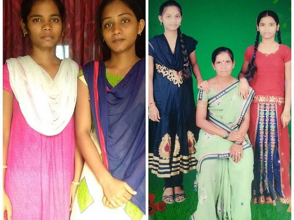Help Poor Sisters P. Swathi & Sruthi(Yamuna)